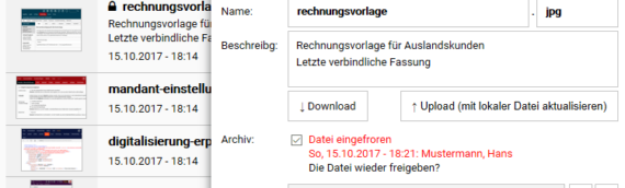 Cloud Dateimanager Software